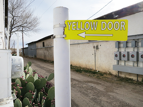 Martha yellow-door