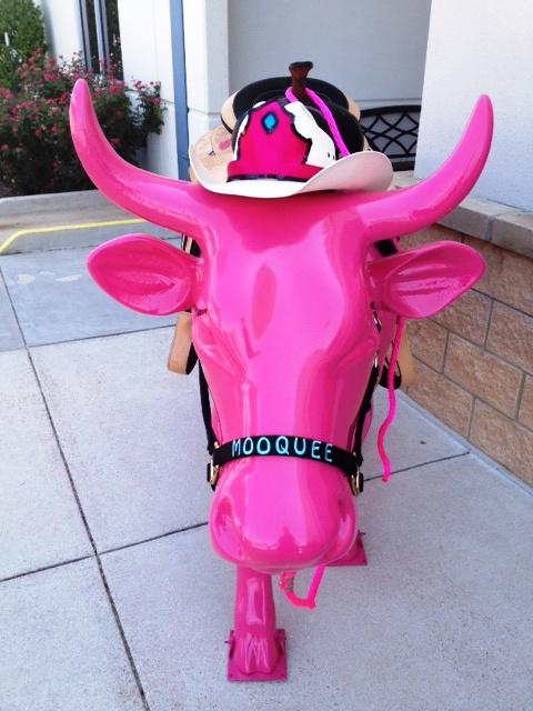 Steve cow pink