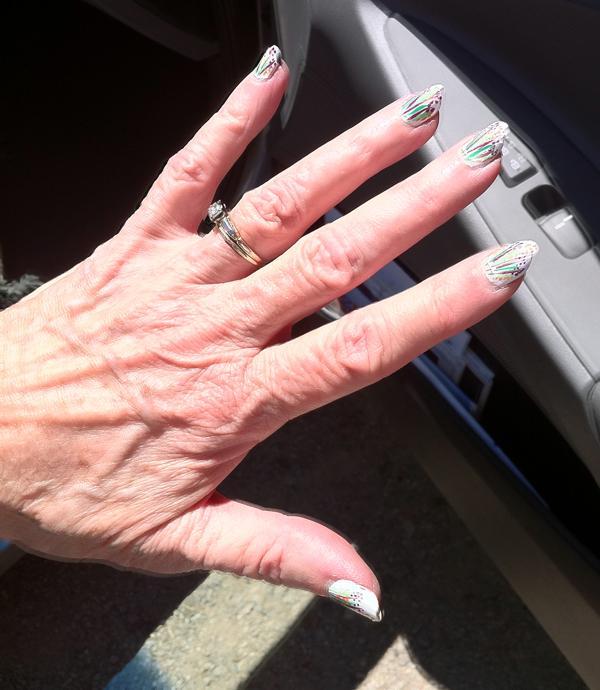 Moms nails 9-17-11
