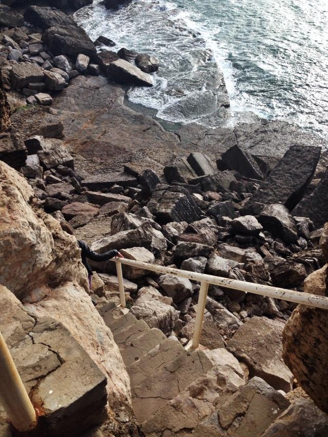 kelly portugal rock stairs U