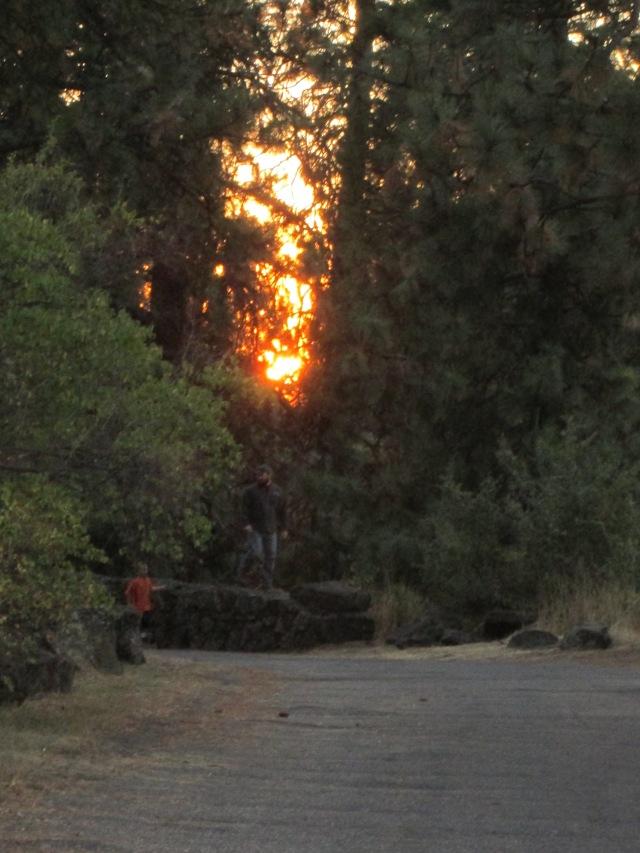sunset manito park u