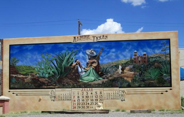 alpine murals U