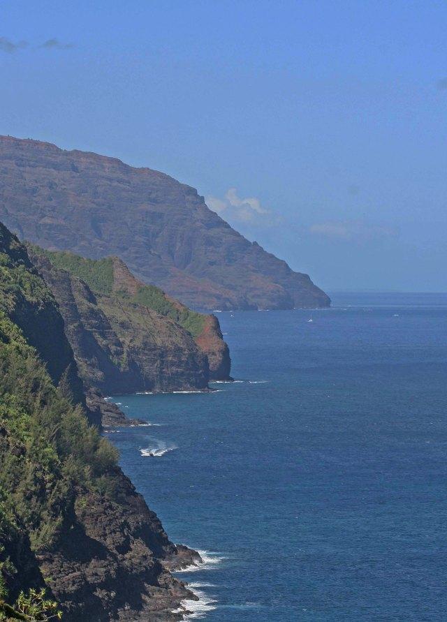 john cliff on ocean U