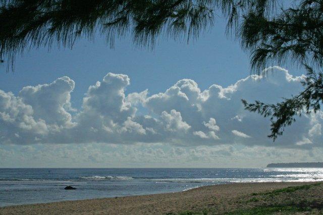 john ocean and clouds