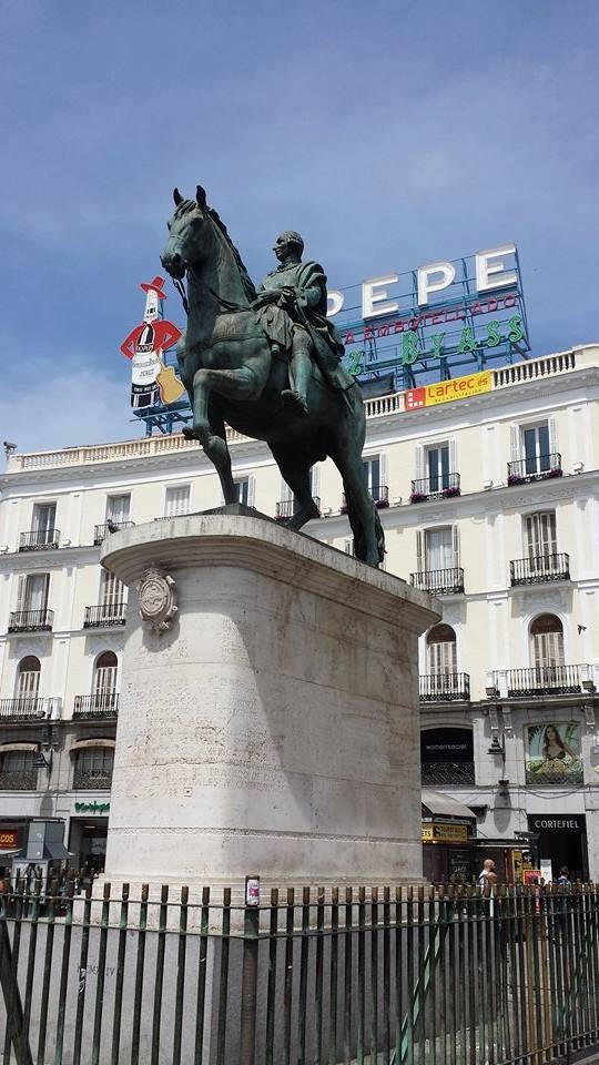 eloy Equestrian statue of Charles III of Spain in Madrid u