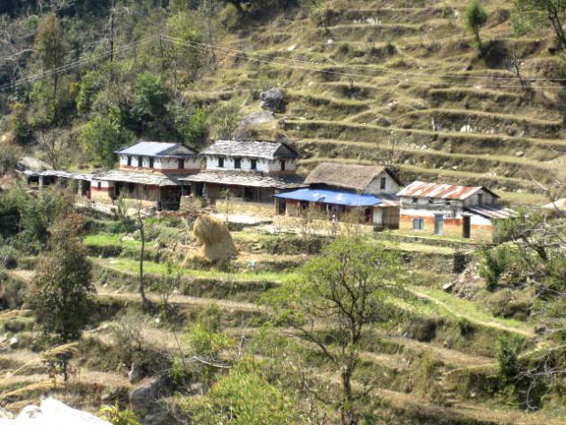 Meri nepal village u