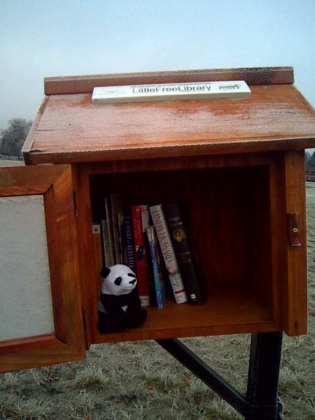 little free library valley u