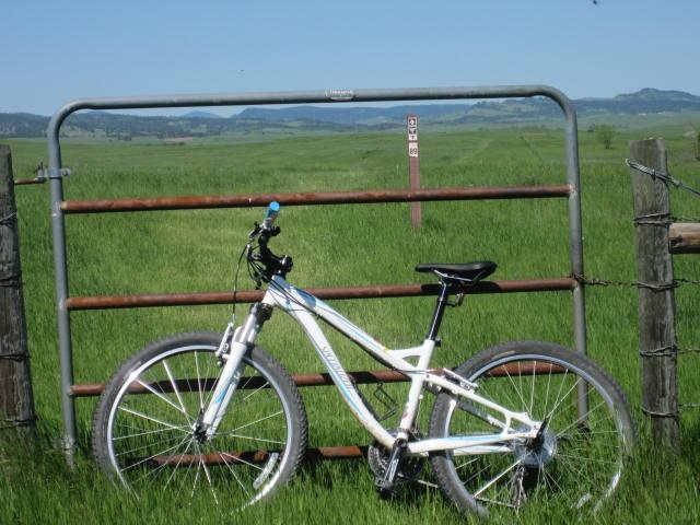 bike on Centennial Trail