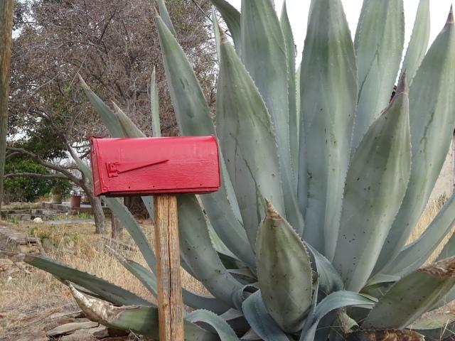 sandy-red-mailbox